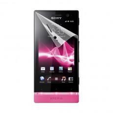 Folie de protecție Sony Xperia U, Puro, Transparent