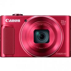 Aparat foto Canon PS SX620 HS Red, Kit