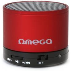 Boxă portabilă Omega Moovo, Red, 3 W (OG47R)