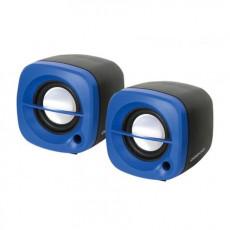 Boxe 2.0 Omega OG15BL, 6 W, Blue