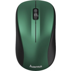 Mouse Hama MW-300 Silent, Blue/Green, Радио