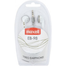 Căști Maxell MXSEB98BW, White, Мini jack (1 x 3.5) (MXSEB98W)