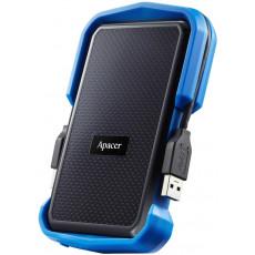"""2,5"""" Hard Disk (HDD) extern 1.0 TB Apacer AC631, Blue (USB 3.0) (AP1TBAC631U-1)"""