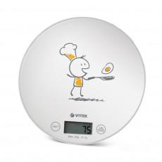 Весы кухонные Vitek VT-8018, White