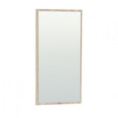 Oglinda de perete Mobi Глория 2 128/02 К (39.2 cm), Дуб сонома