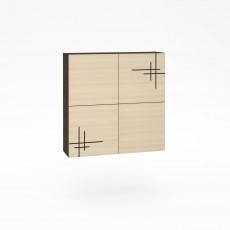 Dulap de perete Mobi Kyoto 904 К-01 (96 cm), Венге, Дуб паллада