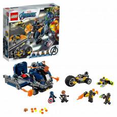 LEGO Super Heroes 76143 - Răzbunătorii - Distrugerea camionului