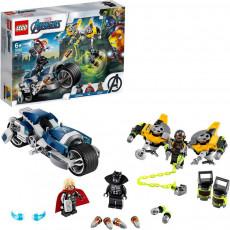 LEGO Super Heroes 76142 - Atacul Răzbunătorilor cu Motocicleta