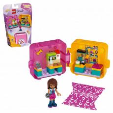 LEGO Friends 41405 - Cubul de joacă și cumpărături al Andreei