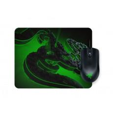 Set Razer Mouse Abyssus Lite & Mouse pad Goliathus Mobile Construct Ed. Bundle Black, USB (RZ83-02730100-B3M1)