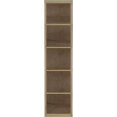 Etajeră penal Fadome Milano MI11 (46 cm), Wood
