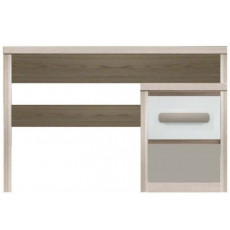 Masă de birou Fadome Roma ROM10, Wood/White/Grey