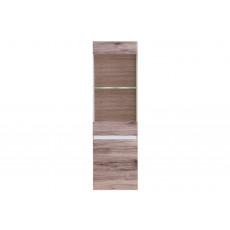 Dulap penal cu vitrină Fadome Passionata PS2 (45 cm), Wood