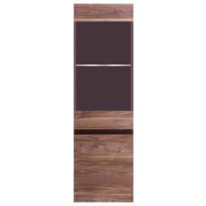 Dulap penal cu vitrină Fadome Obssesion O2 (45 cm), Wood