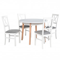 Set Drewmix стол Oslo 4 + стул Milano 4