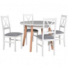 Set Drewmix стол Oslo 4 + стул Nilo 10