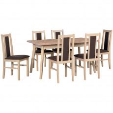 Set Drewmix стол Oslo 5 + стул Boss 14