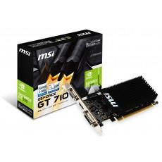 Placă video MSI GeForce GT 710 2GD3H LP (2 GB/DDR3/64 bit)