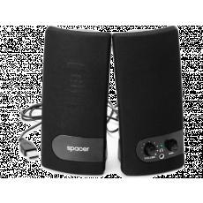 Boxe 2.0 Spacer SPB-216, 6 W, Black