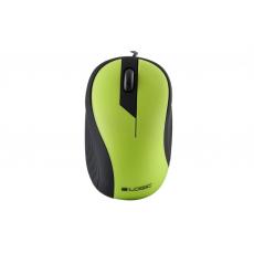 Mouse Logic LM-14, Green, USB