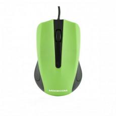 Mouse Modecom MC-M9, Black/Green, USB