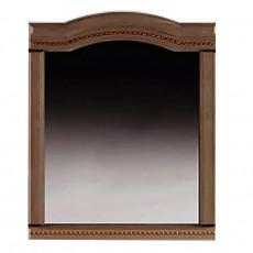 Oglinda de perete Sokme Венера люкс (70 cm), Орех / Орех Тисненый