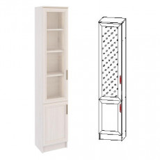 Шкаф-пенал Astrid Принцесса 21 3D 400