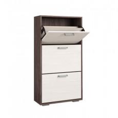 Шкаф для обуви Astrid Briz 12 00-00007515 (60 cm), Анкор тёмный / Анкор белый
