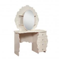 Masă de toaletă KMK Jemchujina 0380.10 (113.5 cm), Венге светлый / Ясень жемчужный