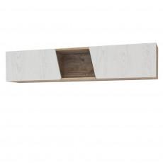 Dulap combinat KMK Лайь 0551.2 (150 cm), Белый / Дуб юкон