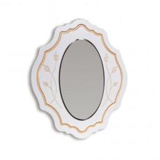 Oglinda de perete KMK Melani 1 0434,5-01 (97 cm), Белый / Патина золото