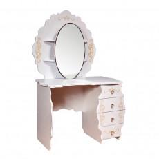 Masă de toaletă KMK Melani 2 0434.10-02 (113.5 cm), Дуб молочный