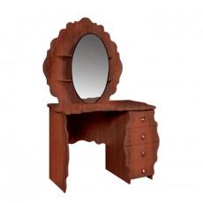 Masă de toaletă KMK Melani 2 0434.10-02 (113.5 cm), Орех эко / Патина орех