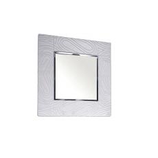 Oglinda de perete KMK Nimfa 0383.8 (90 cm), Бодегв / Белое серебро