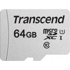 Сard de memorie microSD 64 GB Transcend (TS64GUSD300S-A)