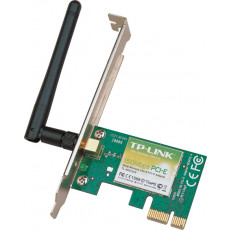 PCIe Wireless LAN Adapter  TP-LINK TL-WN781ND, 150Mbps Wireless Lite N PCI Express Adapter, Atheros