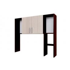 Masă pentru calculator SV - Мебель №7 (надстройка), Дуб венге / Дуб млечный
