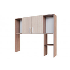 Надставка стола SV - Мебель №7 (надстройка), Ясень шимо тёмный / Ясень шимо светлый
