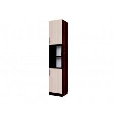 Masă pentru calculator SV - Мебель №7 (Пенал с 2 створками), Дуб венге / Дуб млечный