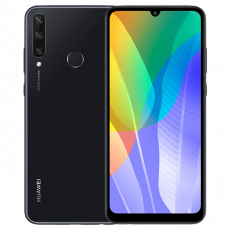Smartphone Huawei Y6P 2020 (3 GB/64 GB) Black