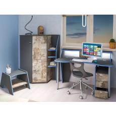 Set mobilă pentru copii Mobi Indigo 1