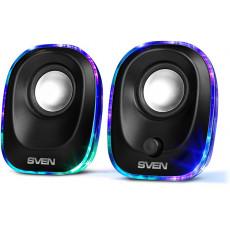 Boxe 2.0 Sven 330, 5 W, Black