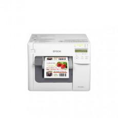 Принтер ColorWorks C3500 (для печати цветных этикеток, стикеров, билетов), White