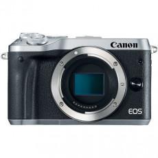 Aparat foto Canon EOS M6 Silver, Body