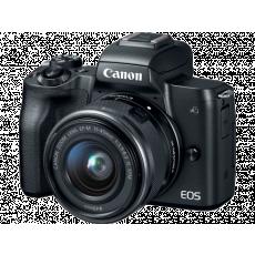 Aparat foto Canon EOS M50 Black, 15-45mm IS STM