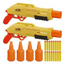 "Hasbro Nerf E8312 - Set de joc Blaster ""Alpha Strike Tiger DB-2 Duel Targeting"""