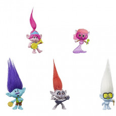 "Hasbro TROLLS World Tour E6568- Set de joc Trolls ""World Tour"" cu instrumente muzicale"