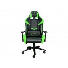 Fotoliu gaming Gamemax GCR08, Black/Green