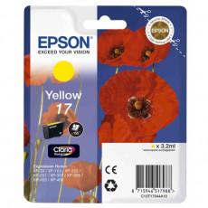 Картридж Epson T17044A10 Yellow Original