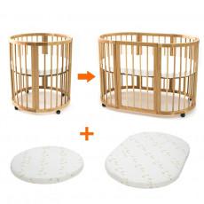Кровать детская BabyTime Transformabil 9 in 1
